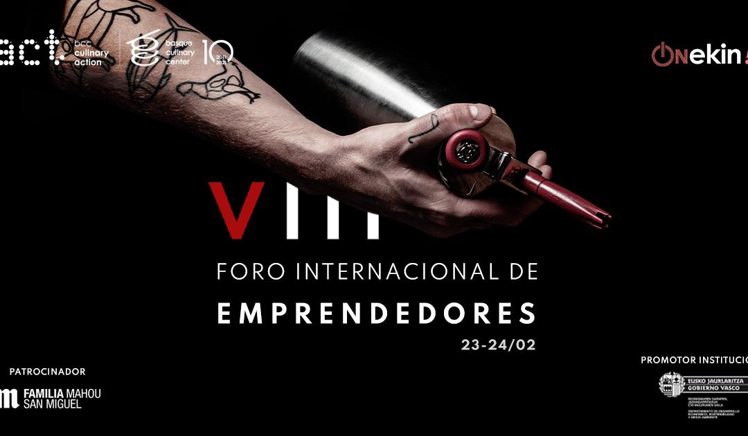 VIII Foro Internacional de Emprendedores- Culinary Action. BCC